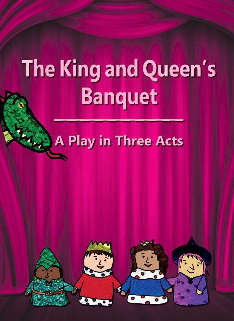 The King and Queen's Banquet - Cover with Main Characters